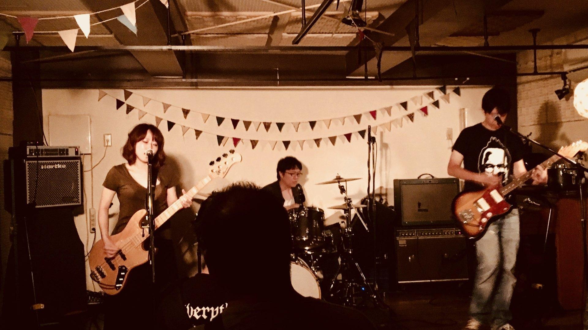 Live拝聴記録 7/8 nuppe,ハイパムフィクサー,34(三銃士)@下北沢モナレコード