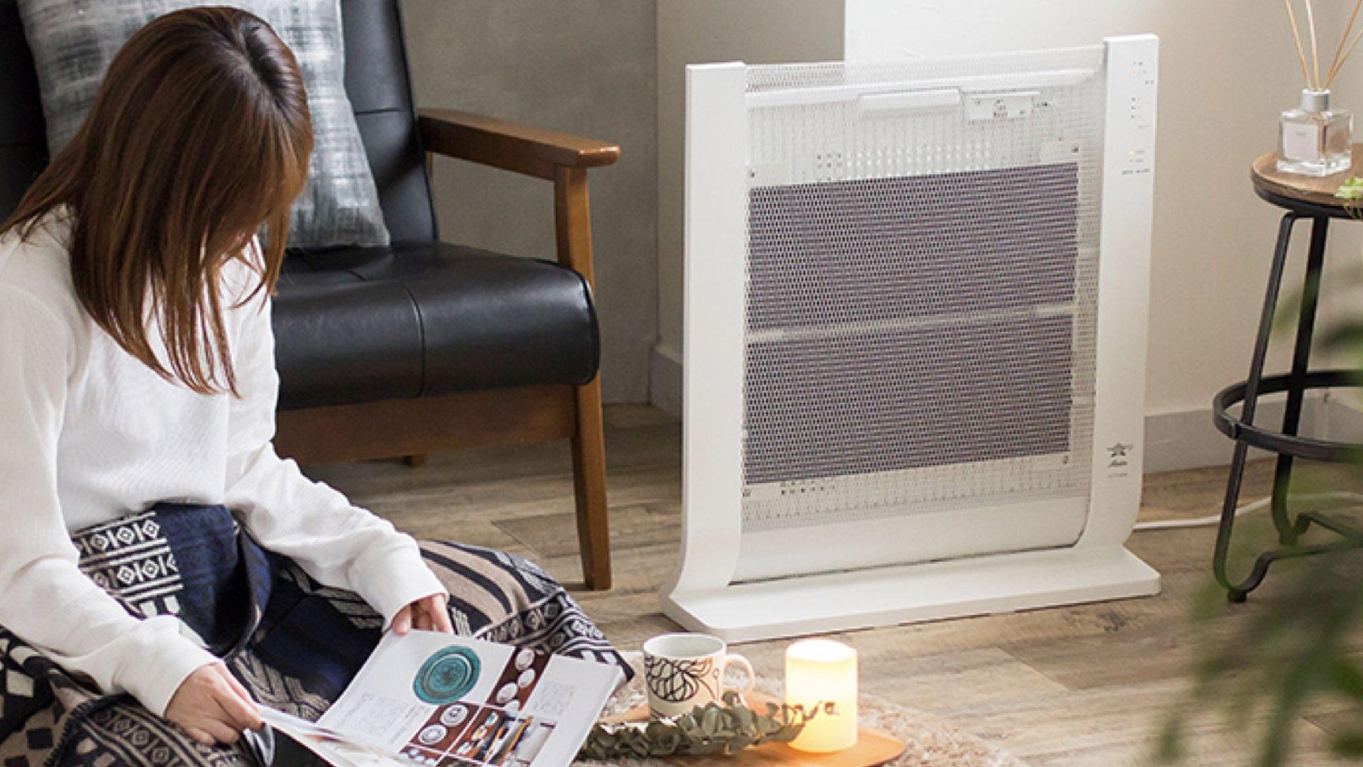 部屋全体がじんわり暖かいオイル、パネルヒーターを比較して導入した話